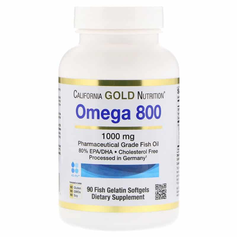 California Gold Nutrition, Омега 800