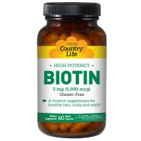 Country Life, Биотин, высокая эффективность