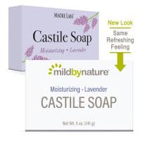 Mild By Nature, кастильское мыло, с ароматом лаванды