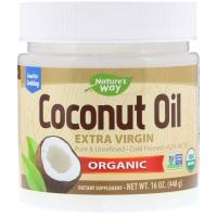 Nature's Way, Органическое кокосовое масло, холодного отжима