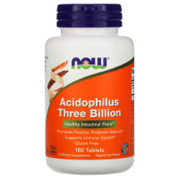Now Foods, Стабилизированный ацидофилус, 3 млрд