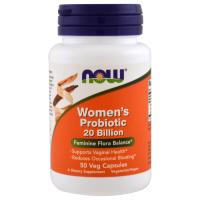 Now Foods, Пробиотики для женщин, 20 млрд
