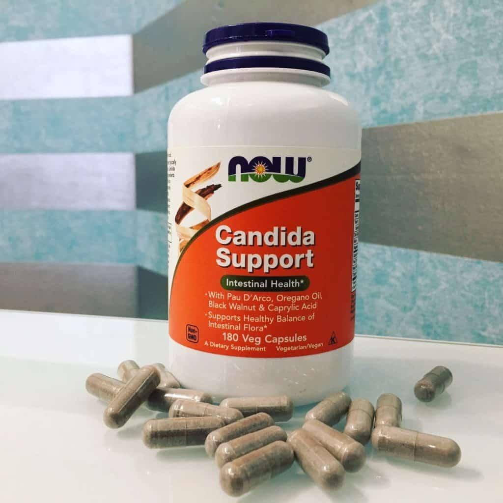 кандидоз и молочница Now Foods, Candida Support