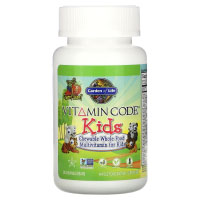 Garden of Life, Vitamin Code, Kids, Chewable Whole Food Multivitamin