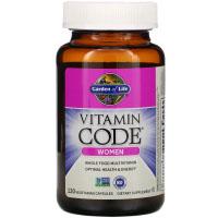 Garden of Life, Vitamin Code, для женщин