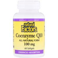 Natural Factors, Коэнзим Q10, 100 мг