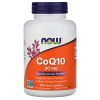 Now Foods, CoQ10, 30 мг