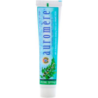 Auromere, Аюрведическая зубная паста на травах, свежая мята