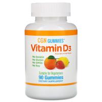 California Gold Nutrition, Жевательные конфеты с витамином D3, 2000 МЕ