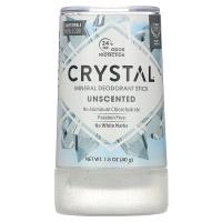 Crystal Body Deodorant, минеральный дезодорант-карандаш, без запаха, 40 г