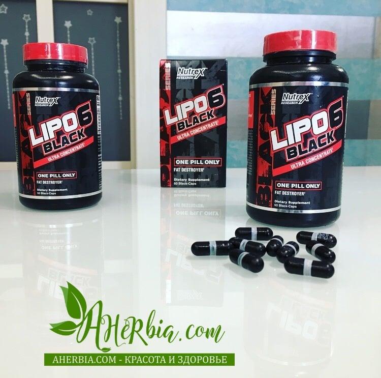 Nutrex Research, Черный ультраконцентрат Lipo-6, lipo 6, жиросжигатель, fat burners, отзыв iherb жиросжигатели