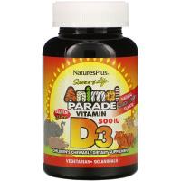 Nordic Naturals, Витамин D3 для детей, 400 МЕ