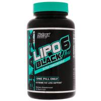 Nutrex Research, LIPO-6 Black для женщин, ультраконцентрат
