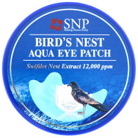SNP, Патчи с экстрактом птичьих гнезд для кожи вокруг глаз