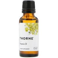 Thorne Research, Витамин D3, 1000 МЕ
