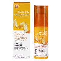 Avalon Organics, Intense Defense, сыворотка для лица с витамином С