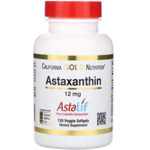 астаксантин California-Gold-Nutrition-Astaxanthin-AstaLif-Pure-Icelandic-12-mg