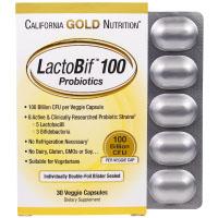 California Gold Nutrition, LactoBif, пробиотики, 100 млрд КОЕ
