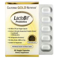 California Gold Nutrition, LactoBif, пробиотики, 30 млрд КОЕ