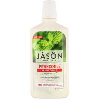 Jason Natural, Powersmile, жидкость для полоскания рта с эффектом отбеливания, перечная мята