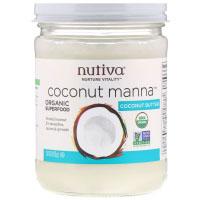 Nutiva, Органический продукт, Coconut Manna, кокос в виде пюре