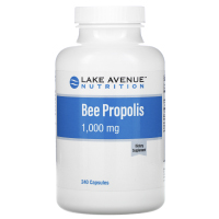 Lake Avenue Nutrition, Прополис, экстракт 5:1, эквивалент 1000 мг