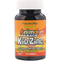 Nature-s-Plus-Source-of-Life-Animal-Parade-Kid-Zinc-Lozenges-Natural-Tangerine