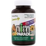 Nature's Plus, Animal Parade, жевательные таблетки для детей с мультивитаминами и минералами