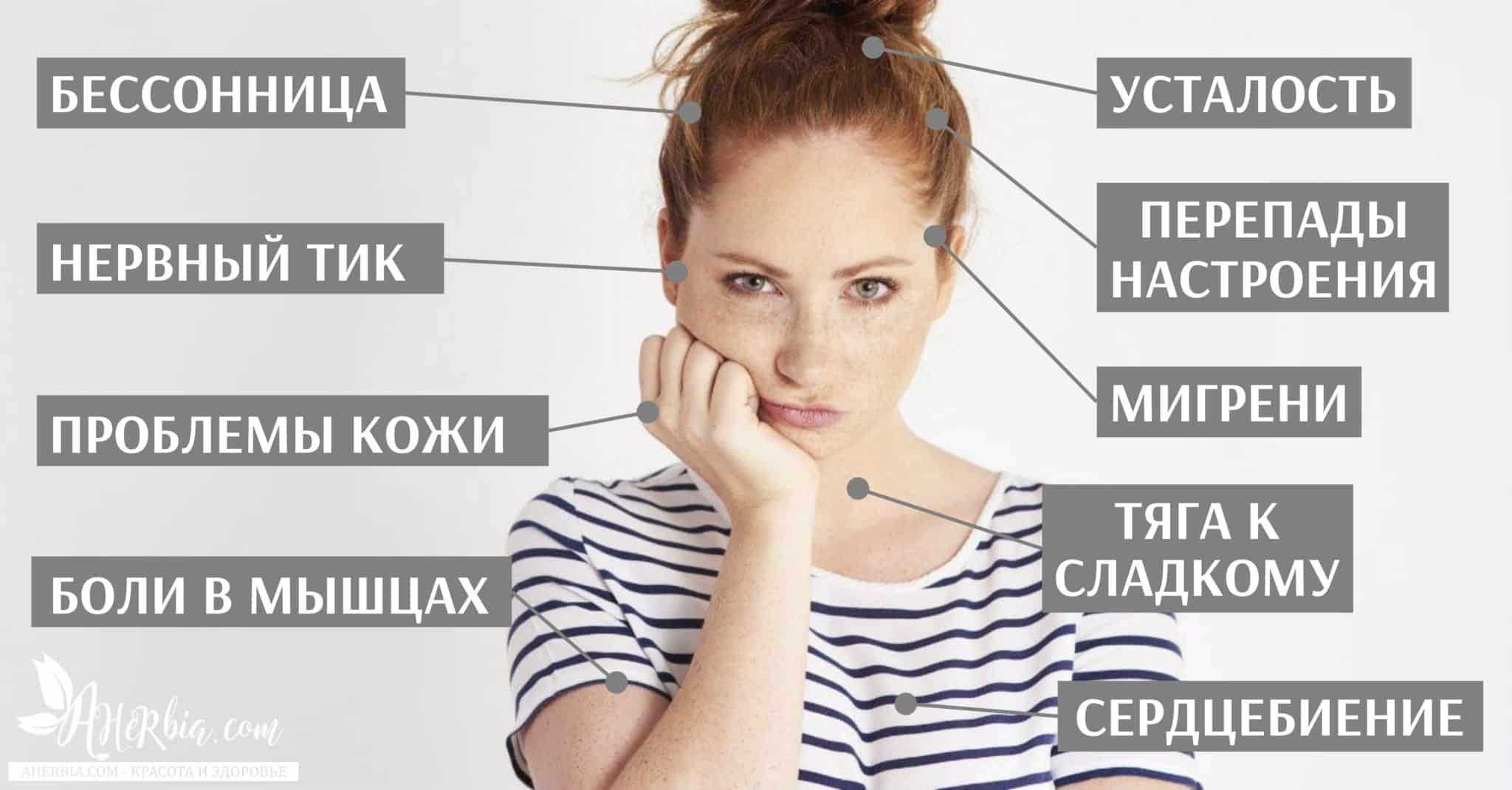 дефицит магния симптомы недостатка