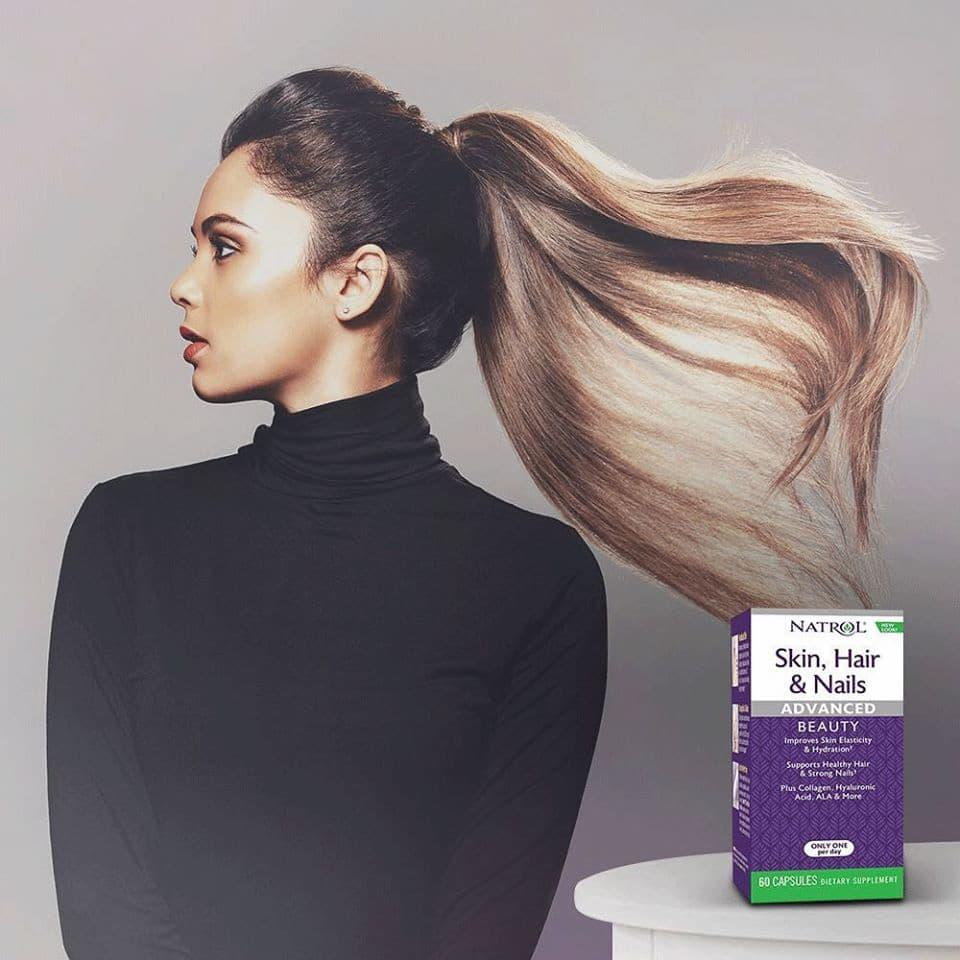 Natrol Skin Hair Nails Advanced Beauty iherb