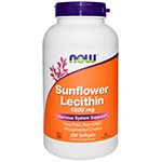 Now Foods Sunflower Lecithin iherb