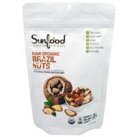 Sunfood, Сырые органические бразильские орехи