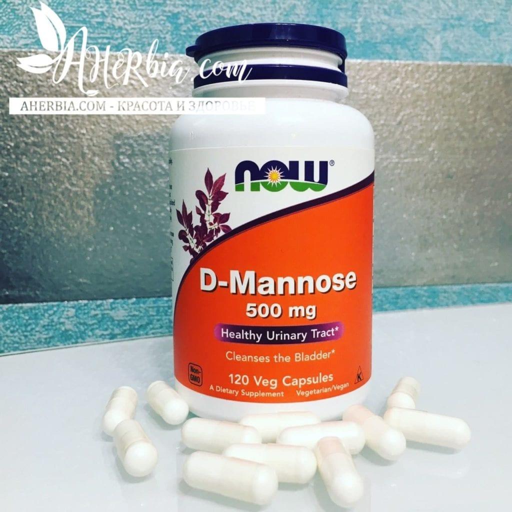D-манноза, D-mannose, купить на iherb, iherb цистит