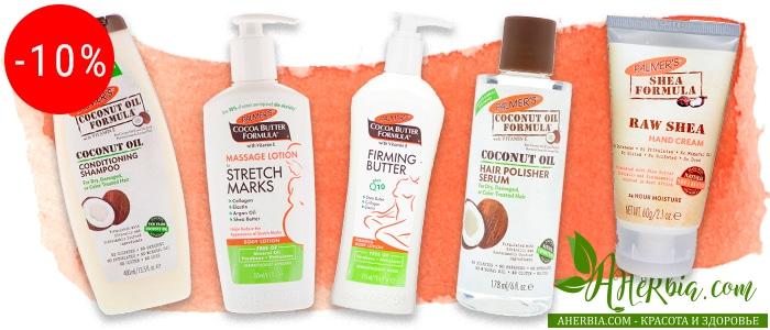Palmer's: уход за кожей и волосами на основе кокосового масла