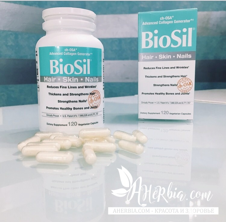 BioSil by Natural Factors, BioSil, ch-OSA