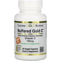 California Gold Nutrition, Буферизованный витамин C в капсулах