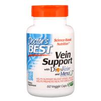 Doctor's Best, Поддержка для вен с DiosVein и MenaQ7