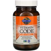 Garden of Life, Vitamin Code, Raw Vitamin C