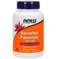 Now Foods, Аскорбил пальмитат, 500 мг