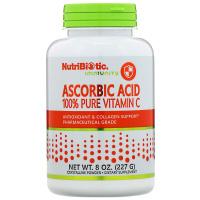 NutriBiotic, Аскорбиновая кислота, 100 % чистый витамин С, кристаллический порошок