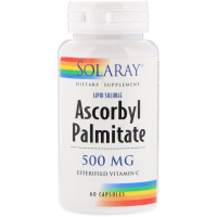 Solaray, Аскорбилпальмитат, 500 мг