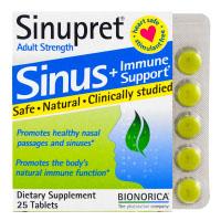 Bionorica, Sinupret, поддержка здоровья носовых пазух и иммунной системы для взрослых