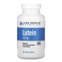 Lake Avenue Nutrition, лютеин, 20 мг