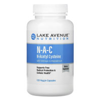 Lake Avenue Nutrition, NAC, N-ацетилцистеин с селеном и молибденом