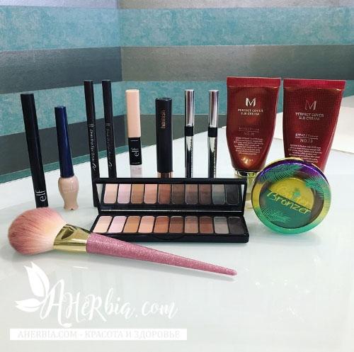 макияж iherb
