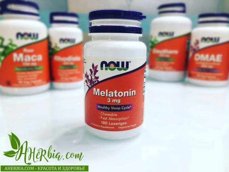 мелатонин на iherb