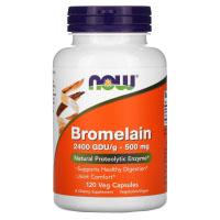 Now Foods, Бромелин, 500 мг