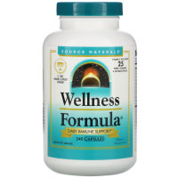 Source Naturals, Wellness Formula, Daily Immune Support