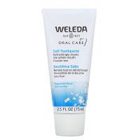 Weleda, Oral Care, солевая зубная паста, без фторидов, со вкусом перечной мяты