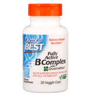 Doctor's Best, Комплекс ативных витаминов B